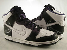 "Nike Dunk High Premium ""Crocodile Star"" Size 9 Purple Jay Z New York Paris Milan"