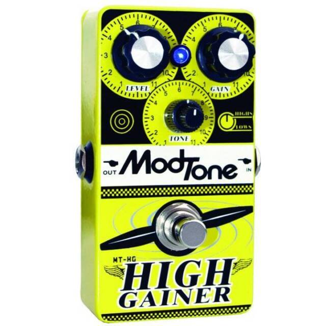 NEW MODTONE MT-HG HIGH GAINER DISTORTION PEDAL FREE SHIPPING!!
