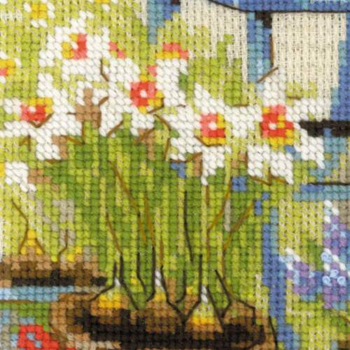 """Counted Cross Stitch Kit RIOLIS 1656 Spring/"""" /""""Country house"""