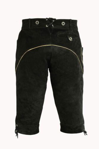Hommes Costumes Pantalon Cuir Costumes Pantalon Cuir porteur NEUF noir taille 46 à 62
