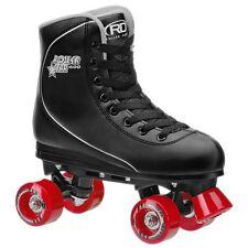 Roller Derby Roller Star 600 Mens Quad Skate Size 10 Black/ Red NEW