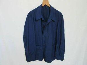 Indigo Blue Worker Jacket French Style True Vintage 50er Heritage Mechanic