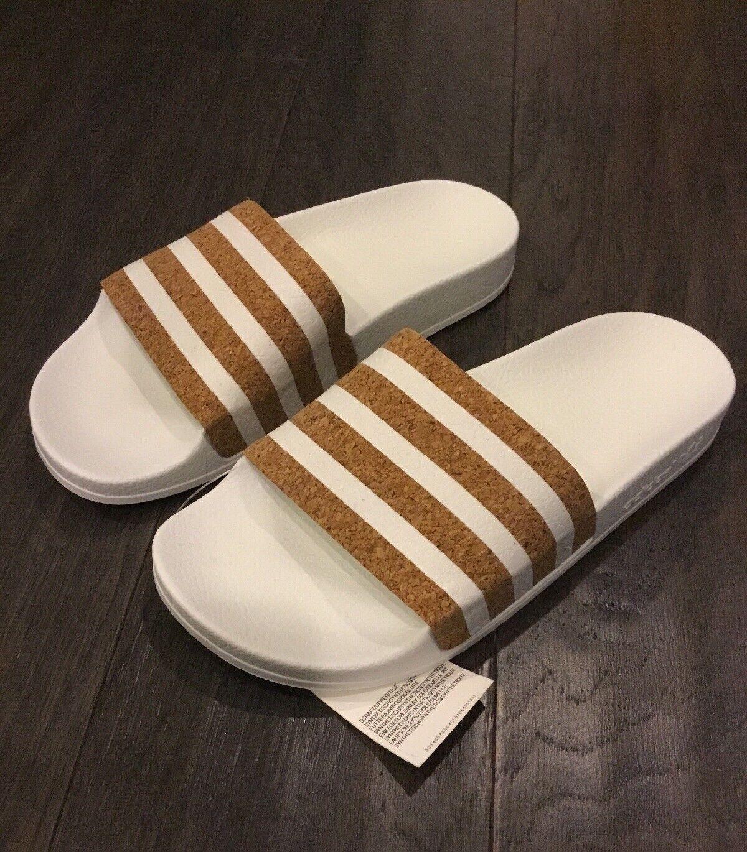 Adidas Adilette Women's Slides shoes Shower Beach Pool Sandals New CQ2338 Size 5