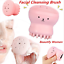 Cute-Octopus-Jellyfish-Facial-Cleansing-Brush-Facial-Massage-Exfoliating-Tool thumbnail 1