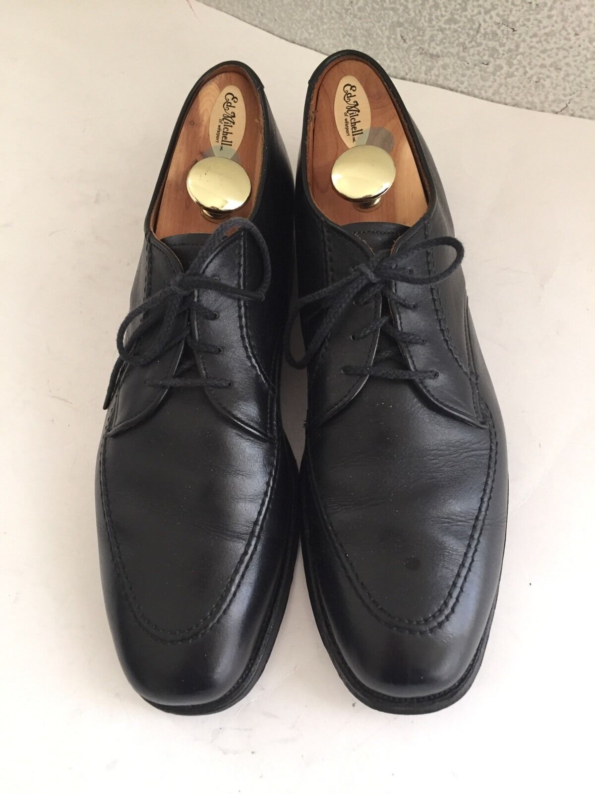 Alden Classic 4 Eyelet Moc Toe bluecher  Oxfords  11 A Made In The USA