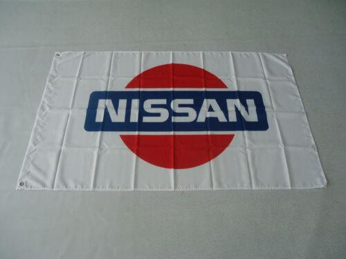 New White Flag Car Racing Banner Flags 3ft x 5ft 90x150cm For nissan flag