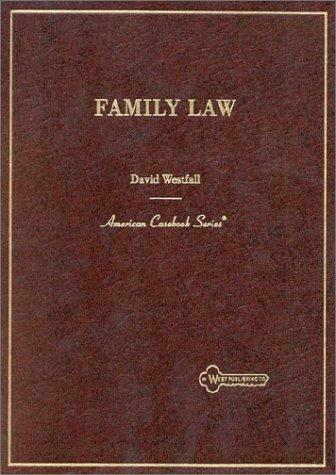 Family Law Hardcover David Westfall