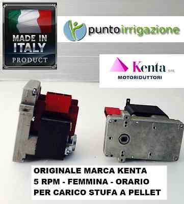 carico pellet Motoriduttore stufa pellets 1,5 RPM marca KENTA K911 5000 orario