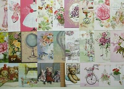 Hunkydory Toppers X 24 Forest Favourites Card Making Size A6 24 Different Design