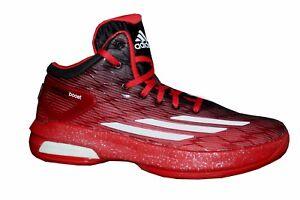 best service 73d67 45aab Das Bild wird geladen Adidas-Crazylight -Boost-Leichte-Basketball-Schuhe-Basketballschuhe-54-