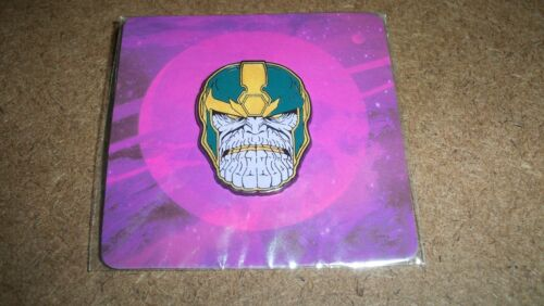 MARVEL GEAR & GOODS THANOS PIN BRAND NEW IN ORIGINAL PACKAGE