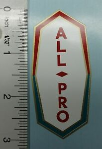 Huffy All Pro badge