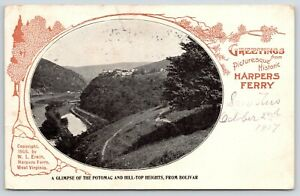 Boliver-Harpers-Ferry-West-Virginia-Potomac-amp-Hill-Top-Heights-1908-Art-Nouveau