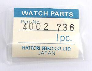 NOS-New-1-PC-Seiko-4002-736-Piece-Piece-4002736-de-Rechange-Vintage-Original