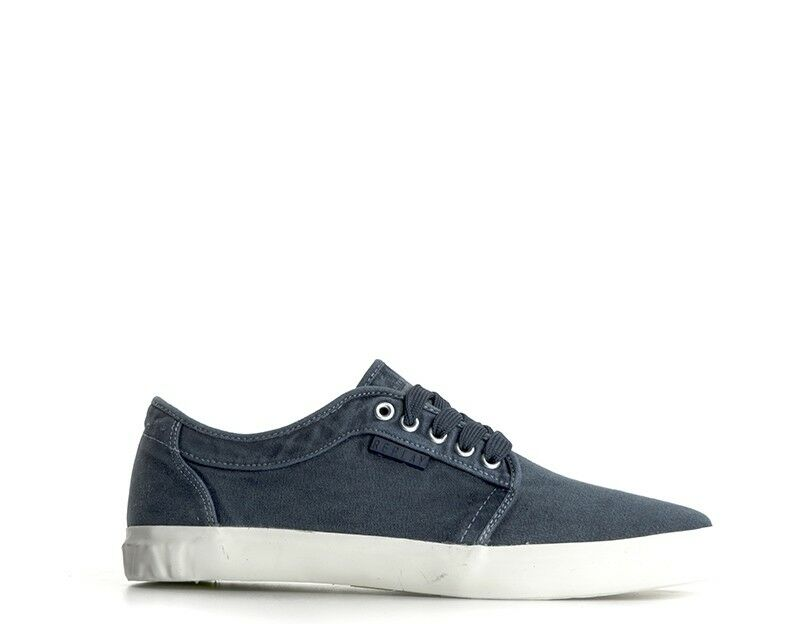Replay men shoes blue Canvas rv720011t-010s