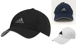 def561d7c64 NEW Adidas Mens Sports Peak Cap Baseball Hat 3 Stripes Adjustable ...