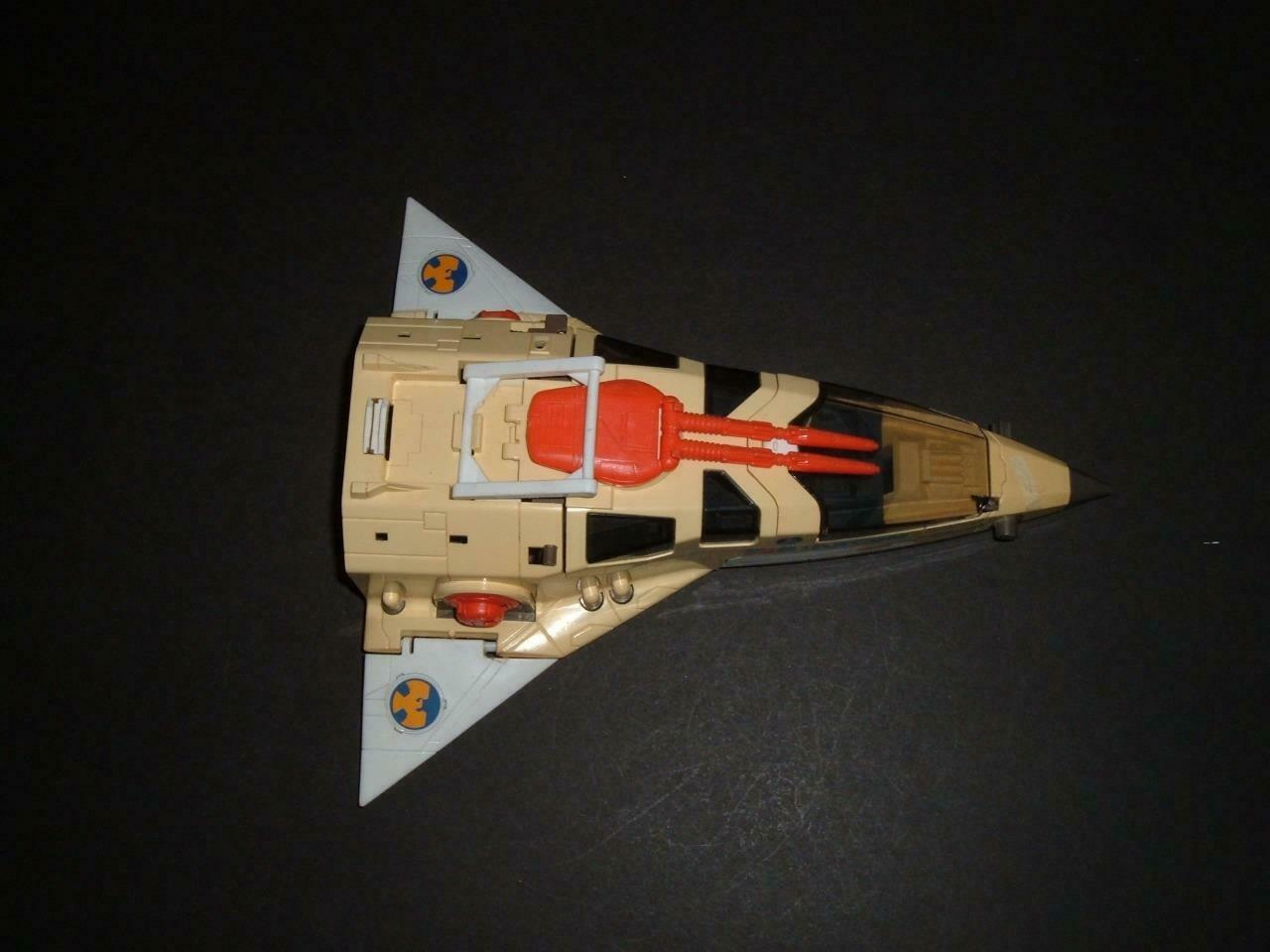 STARCOM BOMBER BOMBER BOMBER COLECO MATTEL SPACE FORCE SHIP IN USED CON'D 3e4e56