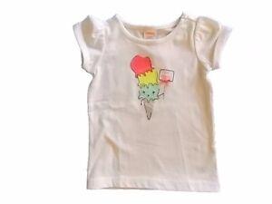 NWT Girl/'s Gymboree Ice Cream Parlor short sleeve shirt ~ 6 12 18 24 months