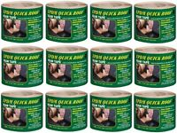 (12) Cofair Bst325 3 X 25' Epdm Quick Roof Adhesive Rubber Roof Seam Seal Tape