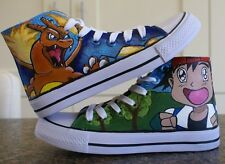 POKEMON INSPIRED CUSTOM HAND PAINTED HIGH TOPS MADE TO ORDER
