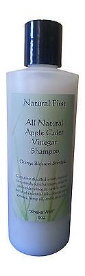 "Natural First  Apple Cider Vinegar ""Orange Blossom"" Scented Clarifying Shampoo"