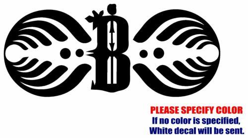 "BASSNECTAR #2 Graphic Die Cut decal sticker Car Truck Boat Window Bumper 12/"""