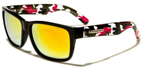 Biohazard Camouflage Arms Vintage Men/'s Designer Sunglasses
