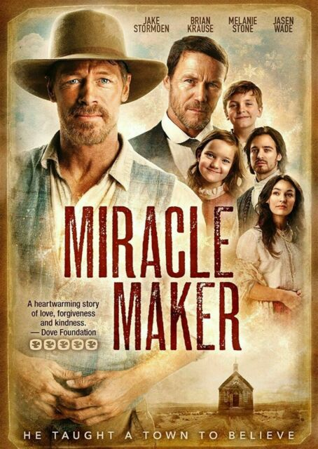 Miracle Maker (DVD, 2018)   BRAND NEW- SEALED