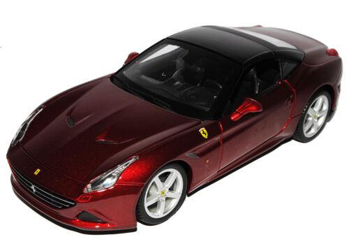 Ferrari California T Coupe Rot Metallic 1//24 Bburago Modell Auto mit oder ohne i
