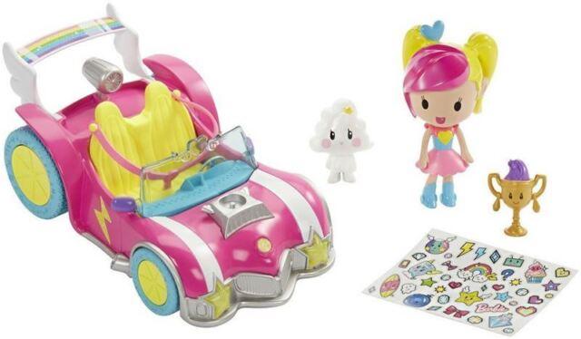 Barbie Video Game Hero Véhicule et Figurine Jeu Ensemble Enfants Jouet