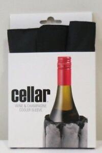Cellar Champagne/Wine Bottle Cooler Sleeve Brand New