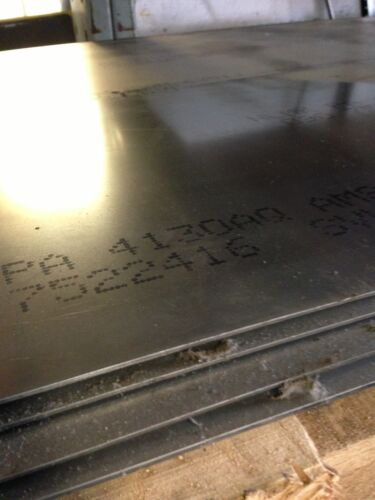 ".040/"" x 36/"" x 48/"" 4130 PLATE ANN CHROM MOLY STEEL SHEET"