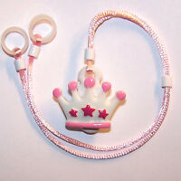 Childs 2 Sided Hearing Aids Safety Leash Loss Retainer Cord Clip ....crown