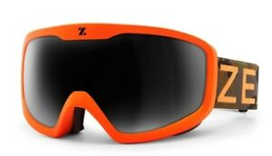 38cb50dc86c NEW Zeal Tramline Orange Camo Grey Polarized Mens Ski Snowboard ...