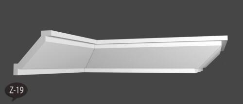 18 m+4 Ecken Zierleisten Stuckprofile Styroporleisten Eckleisten 80 x 80mm  Z 19