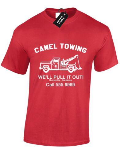 CAMEL TOWING MENS T SHIRT MECHANIC AMUSING RUDE BIRTHDAY GIFT TRUCK NOVELTY