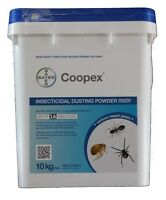 Coopex Insecticidal Dust 10kg Pesticide Insecticide Termite Spider Silverfish