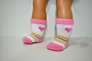 "Our Generation American Girl Journey Baby Born 18/"" Doll Socks Dolls Clothes"