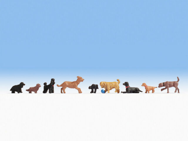 Noch 15719 Dogs, Figurines H0 (1:87)