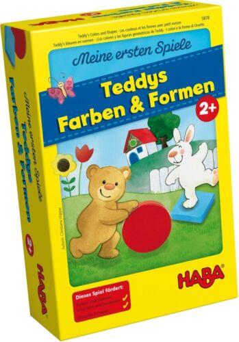 HABA mes premiers jeux de Teddy Couleurs et formes