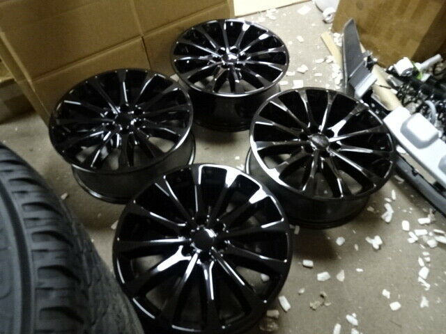 22 Ford F150 Platinum Truck Wheels Rims Tires Factory Oem 2018 Set 4 18f15022 For Sale Online Ebay