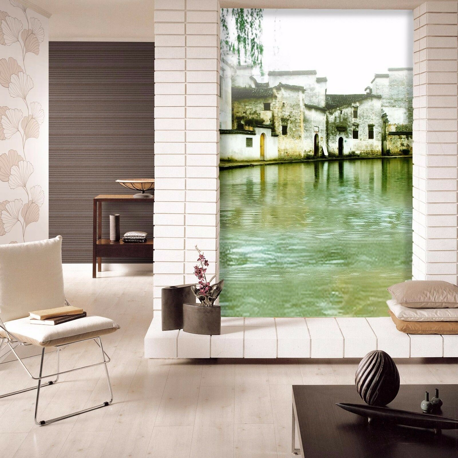 3D Antike Wasserdorf 95 Tapete Wandgemälde Tapete Tapeten Bild Familie DE Summer