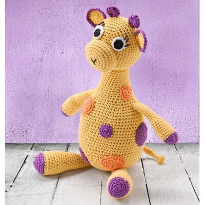 Knorr Prandell Soft Toy Crochet Kit with DMC Natura Yarns Giraffe 31cm