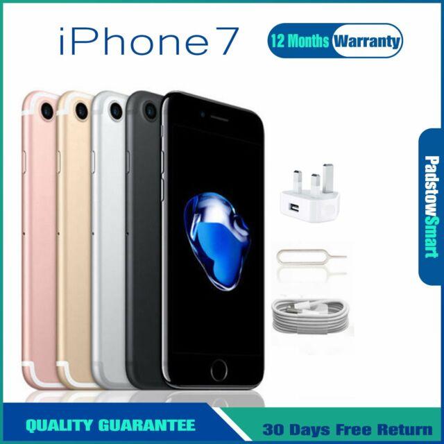 Apple iPhone 7 256GB 128GB 32GB Mobile Smartphone Factory Unlocked Gold Black UK