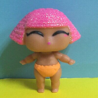 LOL Surprise Series 2 Glitter LiL Sister Queen Baby Doll Figure Toy