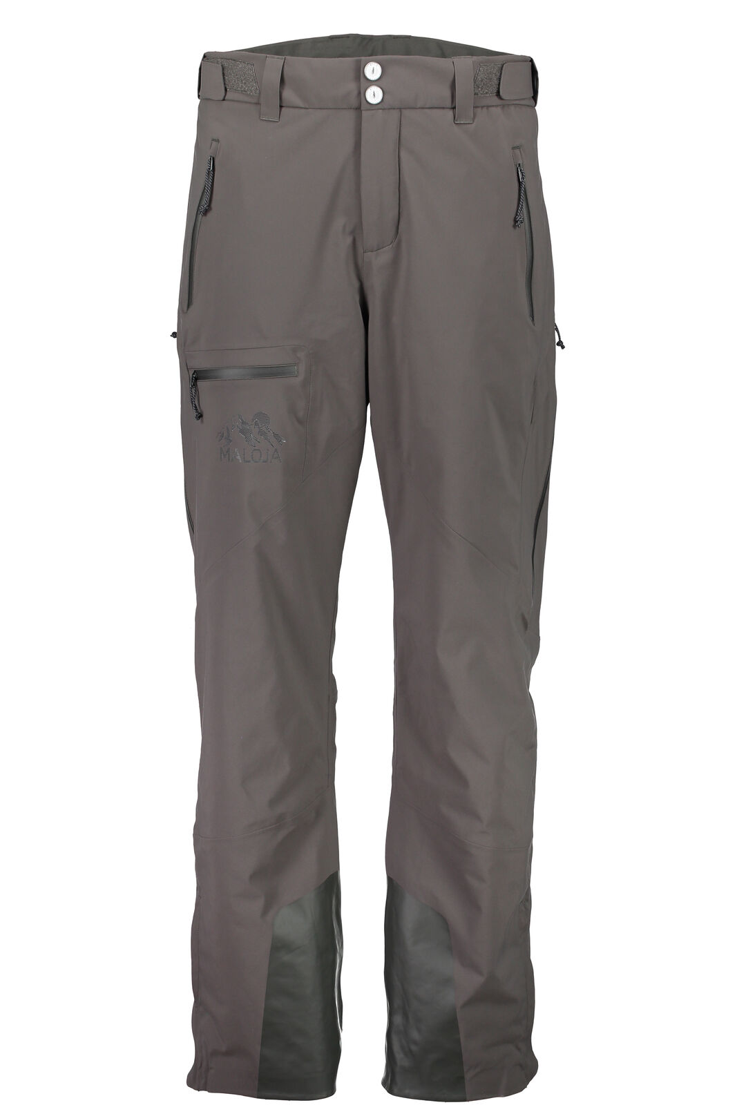 Maloja Outdoor Trousers SKI PANTS functional pants grey granm. Padded Stretch