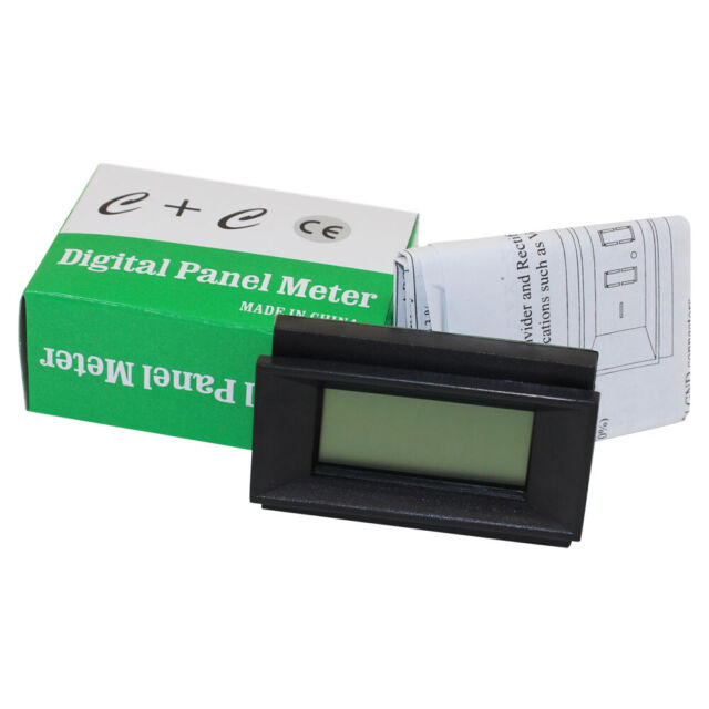 build in voltage divider rectifier Industrial PM128E 3-1//2 LCD Panel Meter