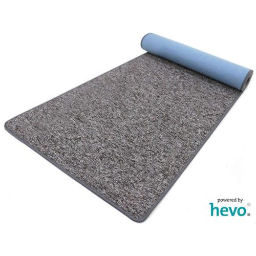 Heilbronn grau 006 HEVO ® Teppichläufer 120 cm Breite in verschiedenen Längen