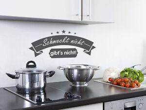 Küchentattoos  Wandtattoo Küche Schmeckt nicht gibts nicht Nr 1 Wand Tattoos ...