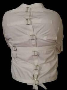 Straight Jacket White XL Gr8 for halloween costume | eBay